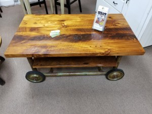 CART COFFEE TABLE 15